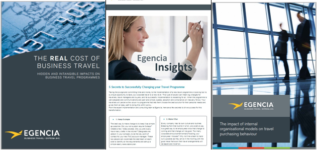 Whitepaper series by Egencia Business Travel