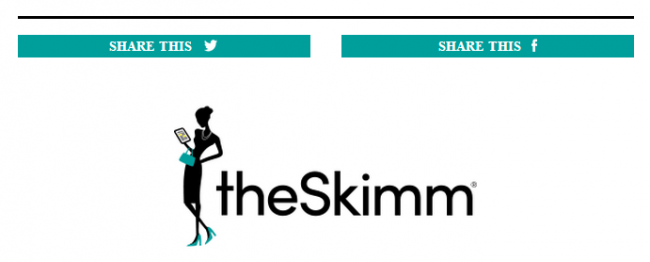 Newsletter head of the Skimm's daily email updates.