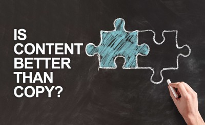 Is content better than copy