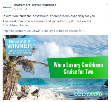InsureMore Become a Winner Social Media Theme