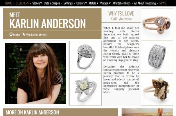 F&L Designer Profile Page