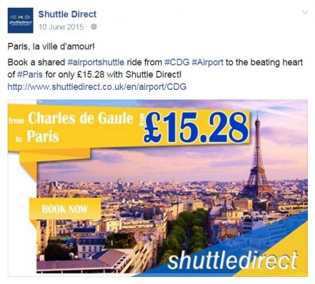 Shuttle Route Promotion