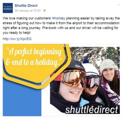 Shuttle Testimonials Post